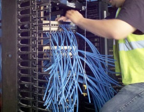 network cabling installation