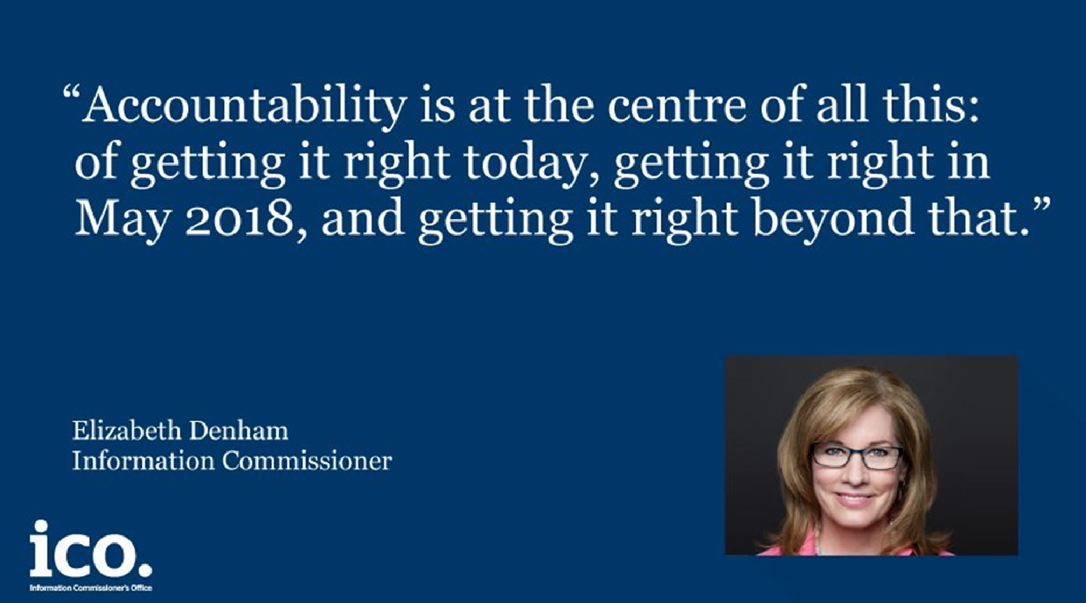 GDPR Accountability Quote