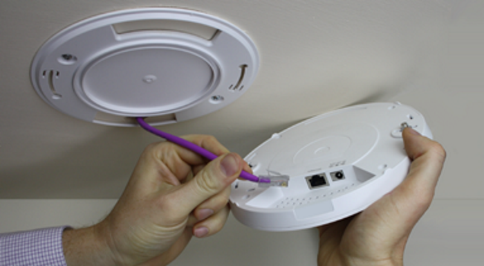 Installing Draytek AP910C Wi-fi Access Point