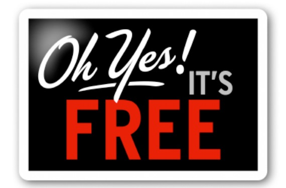 Oh yes - its free