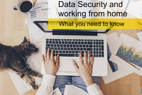 Data security and working from home